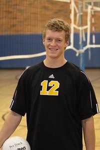 Zach Johnson 12, Gilbert High School Varsity Boys Volleyball 2010
