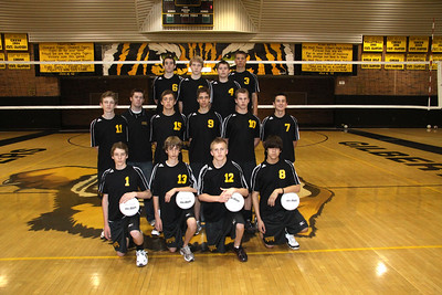 Gilbert High School Training Team Boys Volleyball 2010