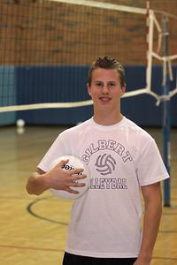 Conner Stapley, Gilbert High School Training Team Boys Volleyball 2010