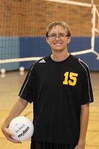 Jon Taylor 15, Gilbert High School JV Boys Volleyball 2010