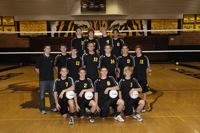 Gilbert High School JV Boys Volleyball 2010