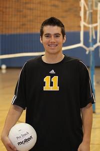 Jamyn Jones 11, Gilbert High School Varsity Boys Volleyball 2010