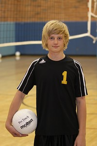 Cameron Dudley 4, Gilbert High School JV Boys Volleyball 2010