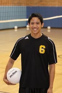 Daniel Ferolino 6, Gilbert High School JV Boys Volleyball 2010