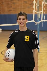 Travis Cole 9, Gilbert High School JV Boys Volleyball 2010