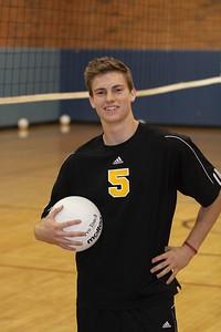 Nate LeSueur 5, Gilbert High School Varsity Boys Volleyball 2010