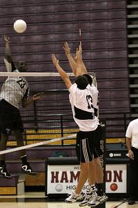 Gilbert High School Boys Volleyball at Corona del Sol 2010