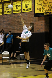 Boys Volleyball - Gilbert High School vs Highland High School - May 4, 2010