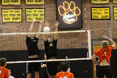 GHS Boys VB Senior Night vs Corona del Sol 2010