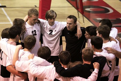 Gilbert Boys Volleyball at the Brophy Tournament 4/11/2010