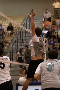 Highland High School 2010 Boys Volleyball team.