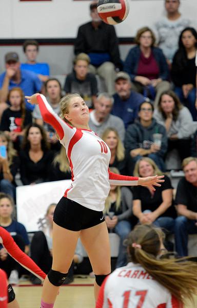 Carmel Vs. Catalina Volleyball 100914