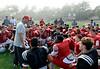 Carmel High football scrimmage