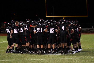 Williams Field Football homecoming game vs Desert Edge. Williams Field won 14-7.
