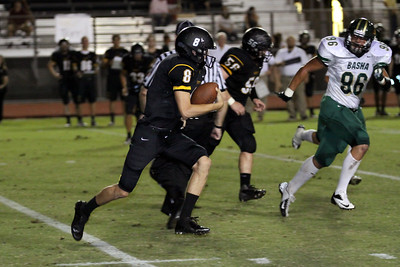 2012 Gilbert Football vs Basha