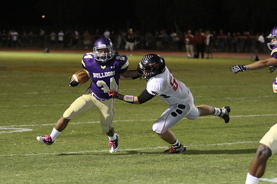2012 Queen Creek Football vs Williams Field 10-26-12