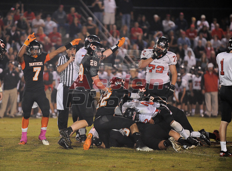 LC fumble recovery in second half
