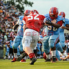 on Friday Aug. 15, 2014, at Bearden High School in Knoxville, TN.  (@ 2014 Bryan Lynn)