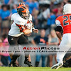 #37 takes the hand off during a game between the Lenoir City Panthers and William Blount Governors.  William Blount won the game 28-3.