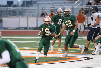 2017 Campo Verde JV Football vs McClintock 9-7-17