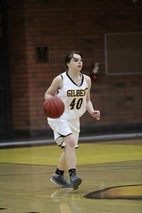 2012 2013 JV Gilbert Girls Basketball vs Skyline JV