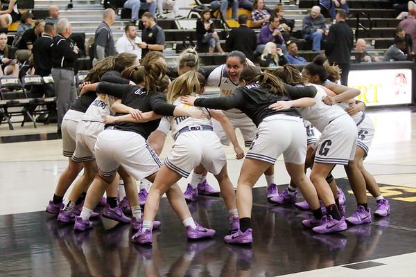 2017-2018 Gilbert Girls Basketball vs Highland 1-12-18