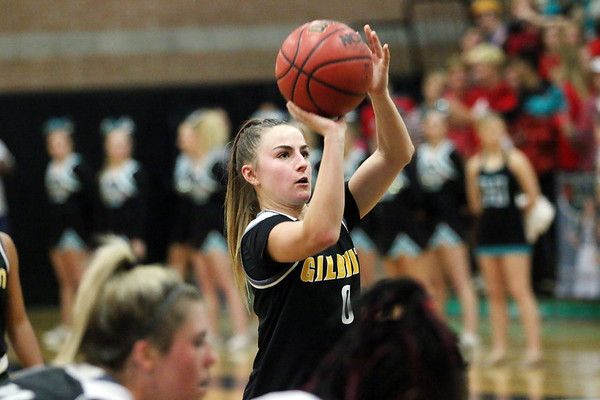 2018-2019 Gilbert Girls Basketball at Highland 11-27-18