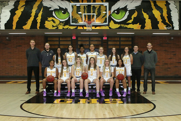 2017-2018 Gilbert Girls Basketball Team and Individual Pictures