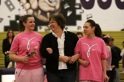 2009-2010 QC Girls Basketball 2-4-10 vs Combs