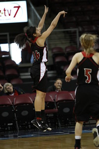 Williams Field Black Hawks Girls Basketball 2010