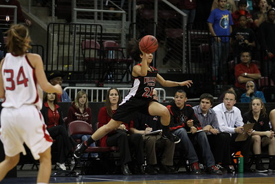 2009-2010 Williams Field Girls Basketball 2010