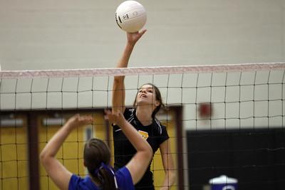 Gilbert High School Freshman Volleyball vs Mesquite Freshman.