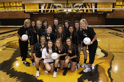 Gilbert High School Girls Volleyball Freshman: Sydney Church 1, Alex Astorga 4, Kaylee Panepinto 5, Shea Redwine 6, Bailey Sperry 7, Ashley Blair 8, Taylor McCord 9, Amanda Burton 10, Dani Nelson 11, Karlee Kamtz 12, Courtney Merrill 13, Angela Webb 14, Mackenzie Hurst 15, Bailey Bruce 16, Coach Pam Miller, Coach Tana Martin,