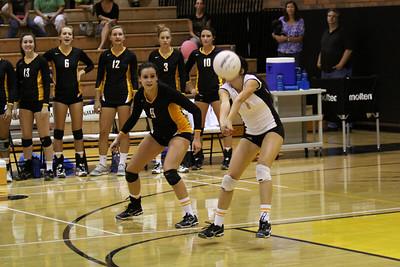 Gilbert Girls Volleyball vs Xavier at Gilbert