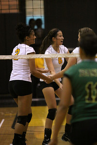 Gilbert High School JV Girls Volleyball vs Basha High School JV