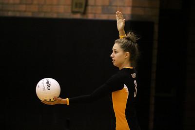 Gilbert High School Varsity Girls Volleyball vs Basha High School