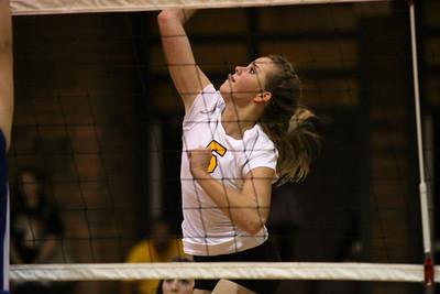 GHS JV Girls Volleyball 2010 vs Xavier JV
