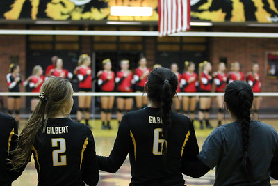 2014 Gilbert Girls Volleyball vs Chaparral 11-04-14 State Round 1