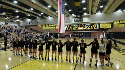2015 GHS Girls Volleyball vs Queen Creek 9-8-15