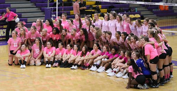 2018 Westwood Girls Volleyball at Mesa 10-2-18