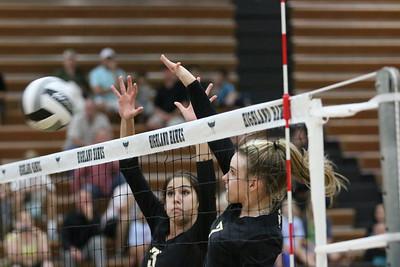 2014 Gilbert Girls Volleyball at Highland Hawks 10-23-14