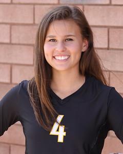 2013 Kameryn Hill 4 Gilbert Volleyball