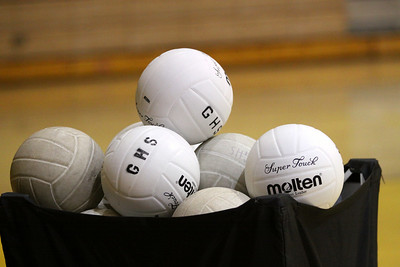 Gilbert High School 2010 Volleyball Team. GHS Tigers.
