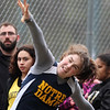 Greater Lowell, Notre Dame Academy & Northeast Tech track meet. NDA's Maddie Walent in Shot Put.  (SUN/Julia Malakie)
