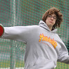 Greater Lowell, Notre Dame Academy & Northeast Tech track meet.  Northeast Tech in Discus.(SUN/Julia Malakie)
