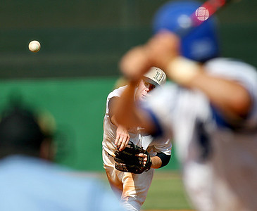 May 31, 2008 - The Lamar Consolidated Mustangs lost to Friendswood 10-8 in extra innings in Game 3 of the Region III-4A baseball playoffs at Cougar Field in Houston.  With the win, Friendswood advances to the State playoff tournament.