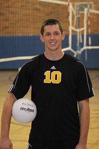 Kyle Webb 10, Gilbert High School Varsity Boys Volleyball 2010