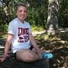 Lowell High senior cross country runner Kaley Richards, 17. (SUN/Julia Malakie)