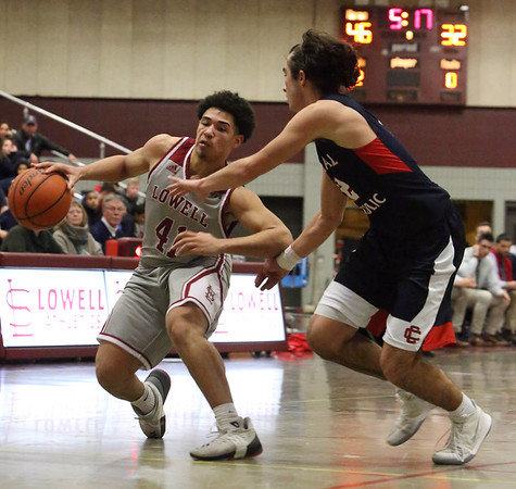 Lowell Central Catholic basketball 020218