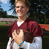 Lowell High football previews. Wide receiver/defensive back Brendan Tighe. (SUN/Julia Malakie)